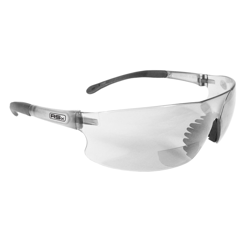 Safety Glasses 2.5 Radians C2-125 Bifocal Clear