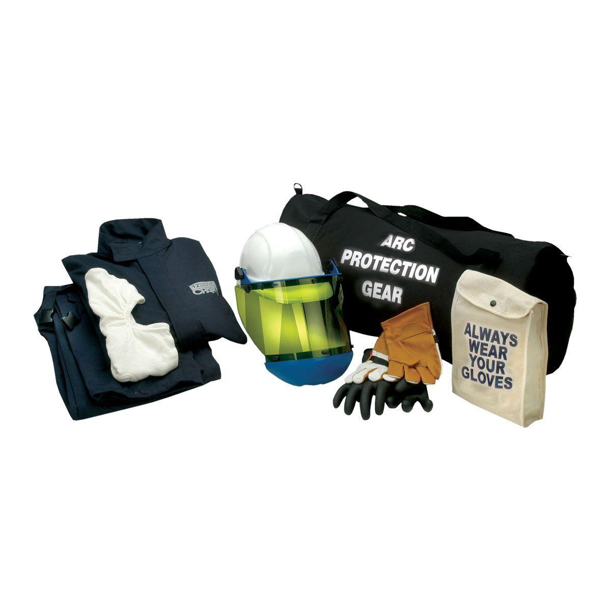 Ag12 L 10 12 Cal Jacket Amp Bib Arc Flash Kit Size Large
